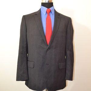 Jhane Barnes 40R Sport Coat Blazer Suit Jacket Dar